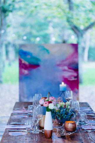 Geometric Wedding Inspiration