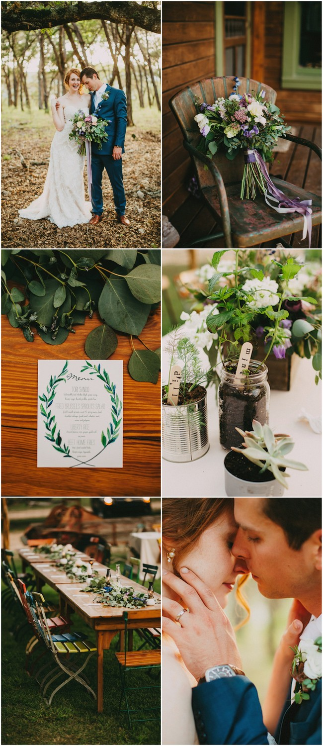 Organic Texas Hill Country Farm Wedding