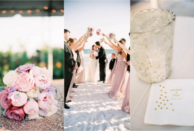 Relaxed, Intimate Seaside Florida Wedding {Lachers Lens Photography}