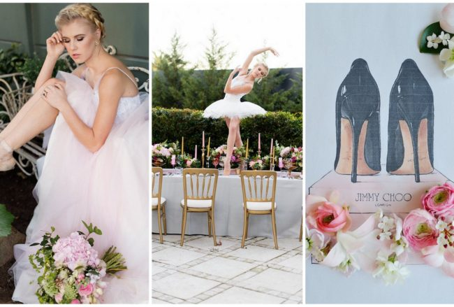 Ethereal Ballerina Wedding: Ballet Bride Style Inspiration {Samantha Clifton Photography}
