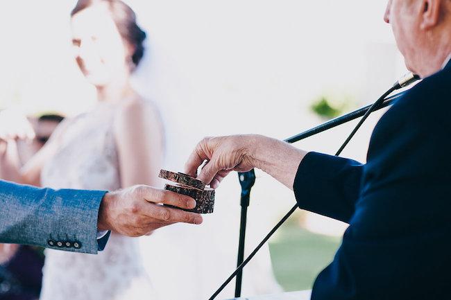 Rustic Herb Wedding Decor
