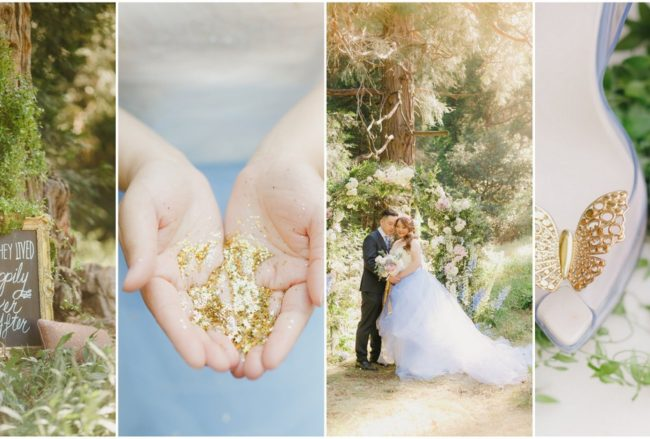 Whimsical Fairytale Cinderella Wedding in the Valley of Enchantment {Kristen Booth Photography}