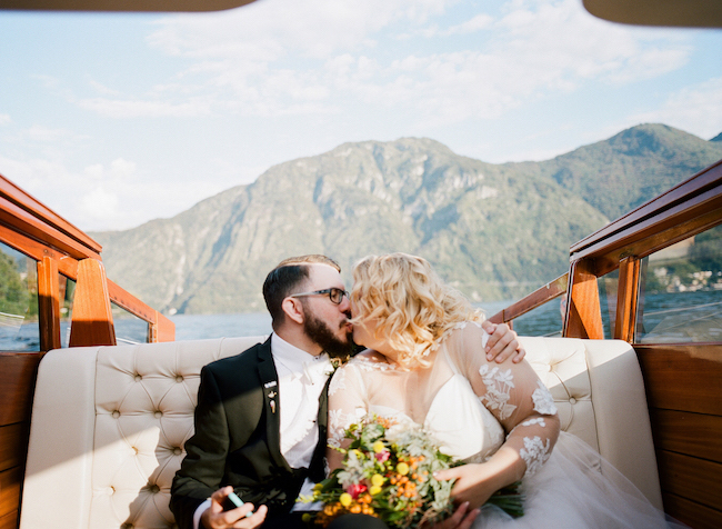 Italy Elopement - Lake Como