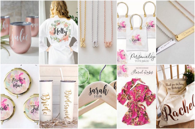 c947ccc7e2aa 20+ Totally Adorbs Bridesmaids Gifts  Ideas To Spoil Your Girls!