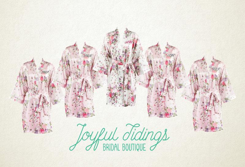 Bridesmaid Robes Gift