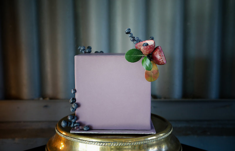 Plum purple wedding