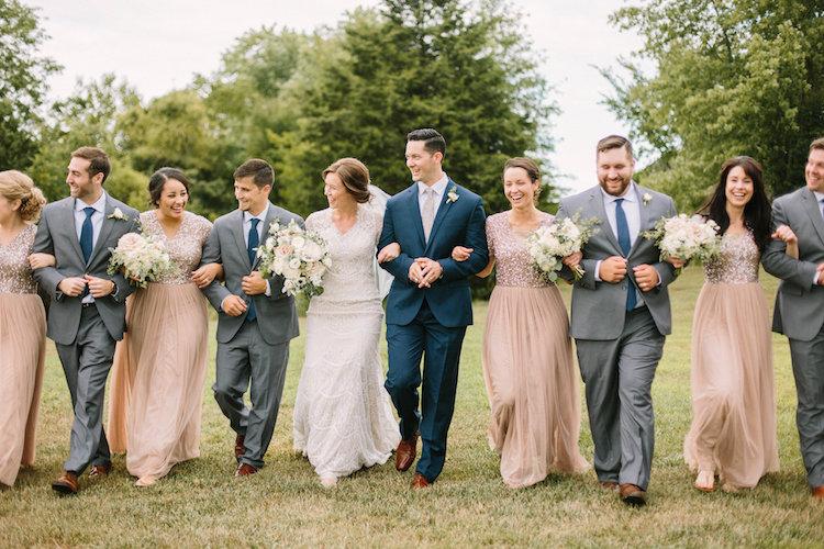Rustic elegant wedding