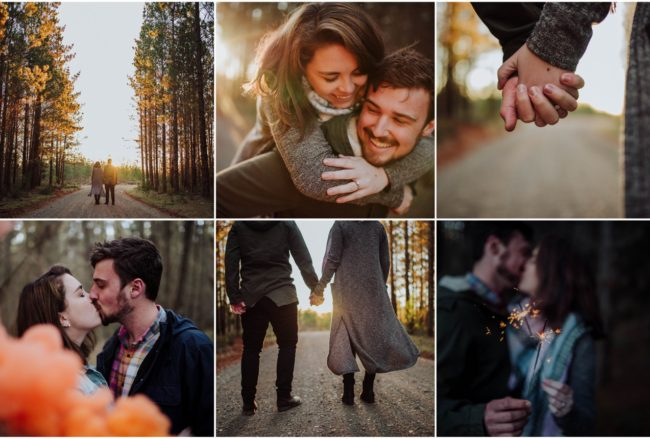 Playful Australian Southern Highlands Sunset Forest Engagement {Translucent Photography}