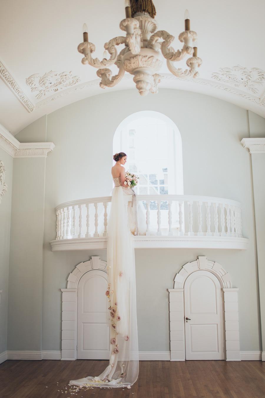 Tim Walker Inspired Wedding Photograph
