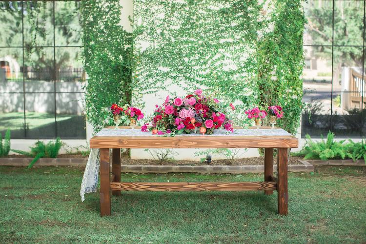 Bougainvillea and Spanish Tile wedding ideas