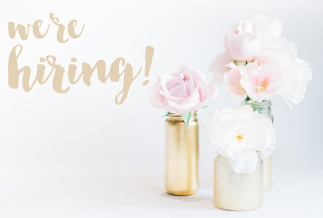 Confetti Daydreams is Hiring!