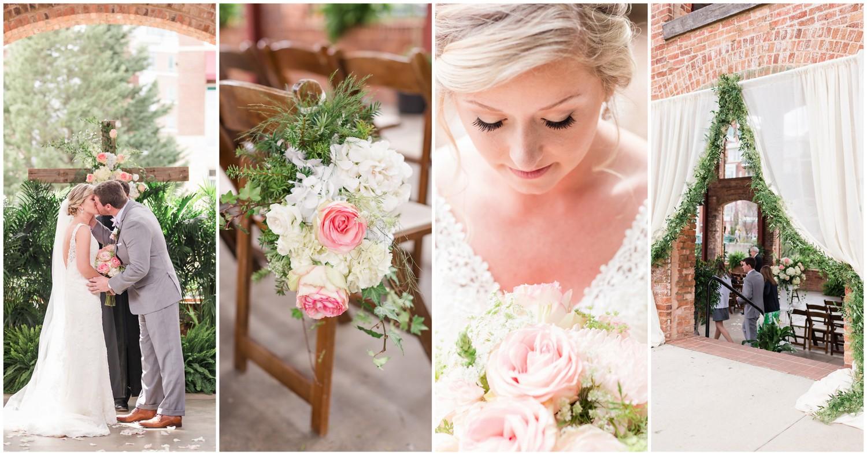 Blush Pink and White Spring Wedding