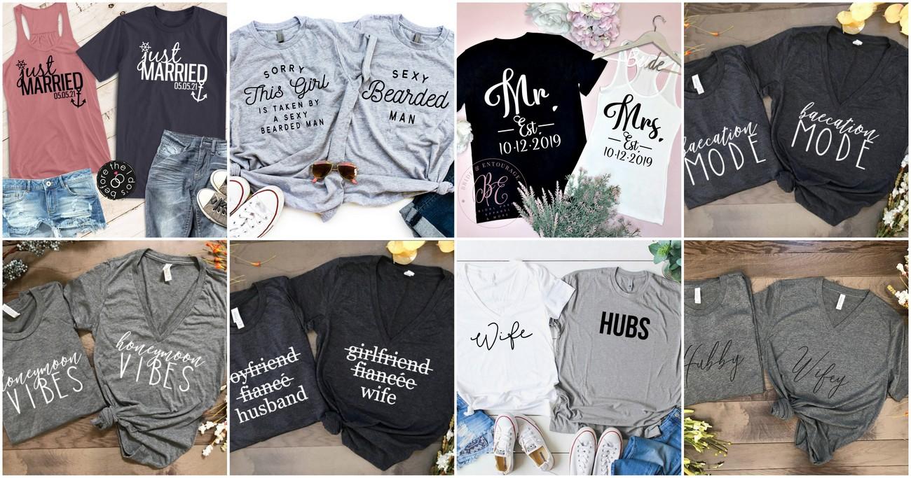 Newly-Wed Honeymoon Shirts