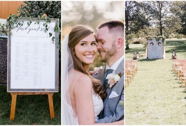 Classic Fall Barn Wedding with a Rustic Twist {Stacy Able Photography}