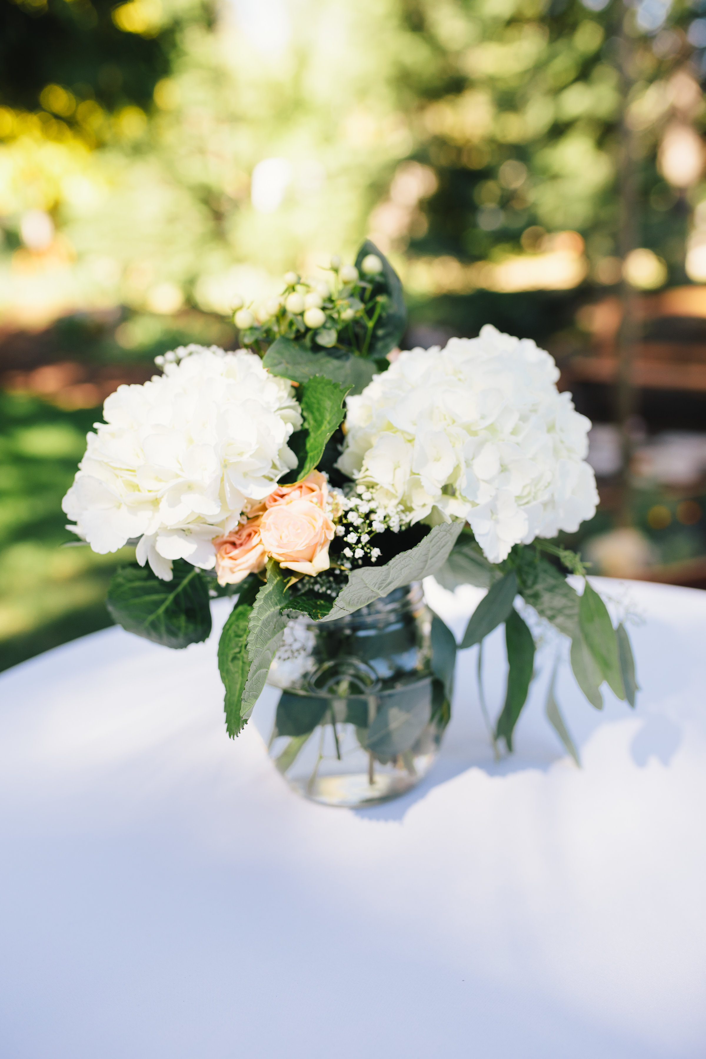 Above Larger Blooms Go Further Use One Or Two Large Such As Hydrangeas Football Mumix Them With Tufts Of Baby S Breath