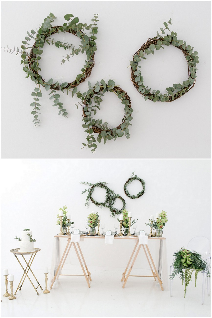 Olive green and ivory wedding ideas