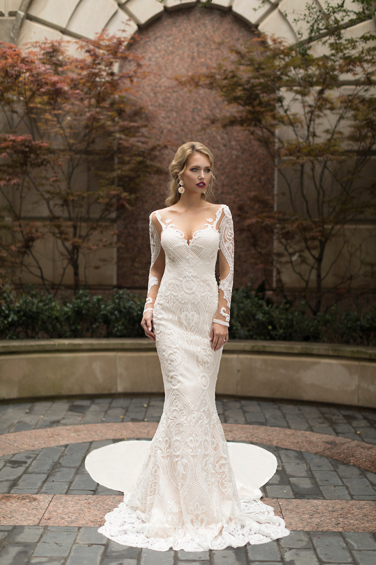 Sensual wedding dresses