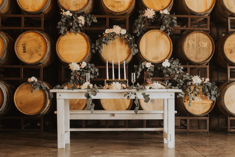 Winery Wedding Decorations