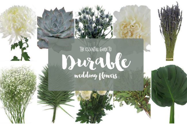 The 15 Most Durable Wedding Flowers for DIY weddings