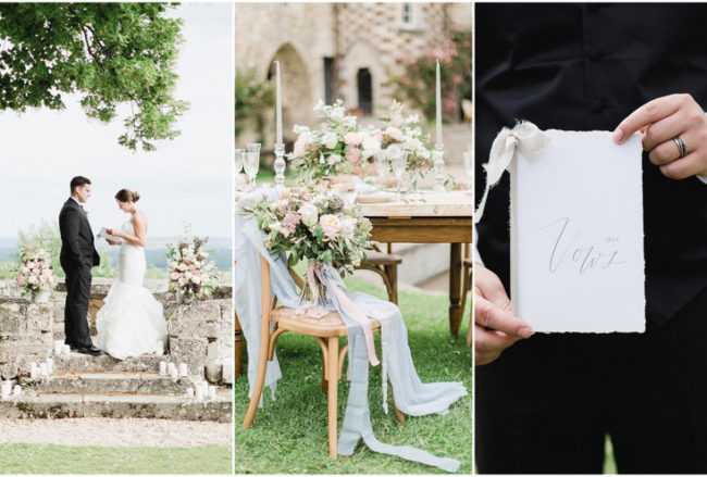 Bohemian Whimsy: Destination Vow Renewal at a Chateau in Lorraine, France