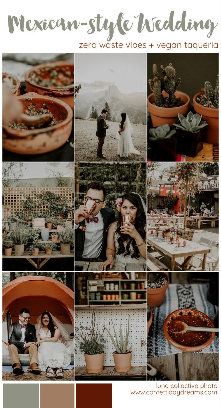 Vegan Taqueria Zero Waste Wedding