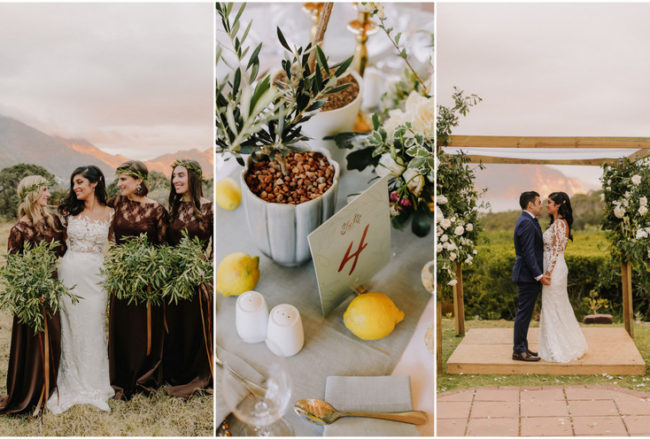 Earthy Vegan Wedding