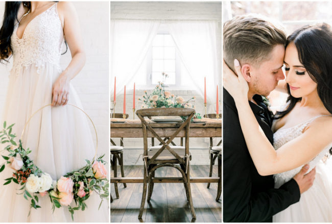 Exquisite Coral, Blush and Gold Wedding Ideas inspired by Pantone