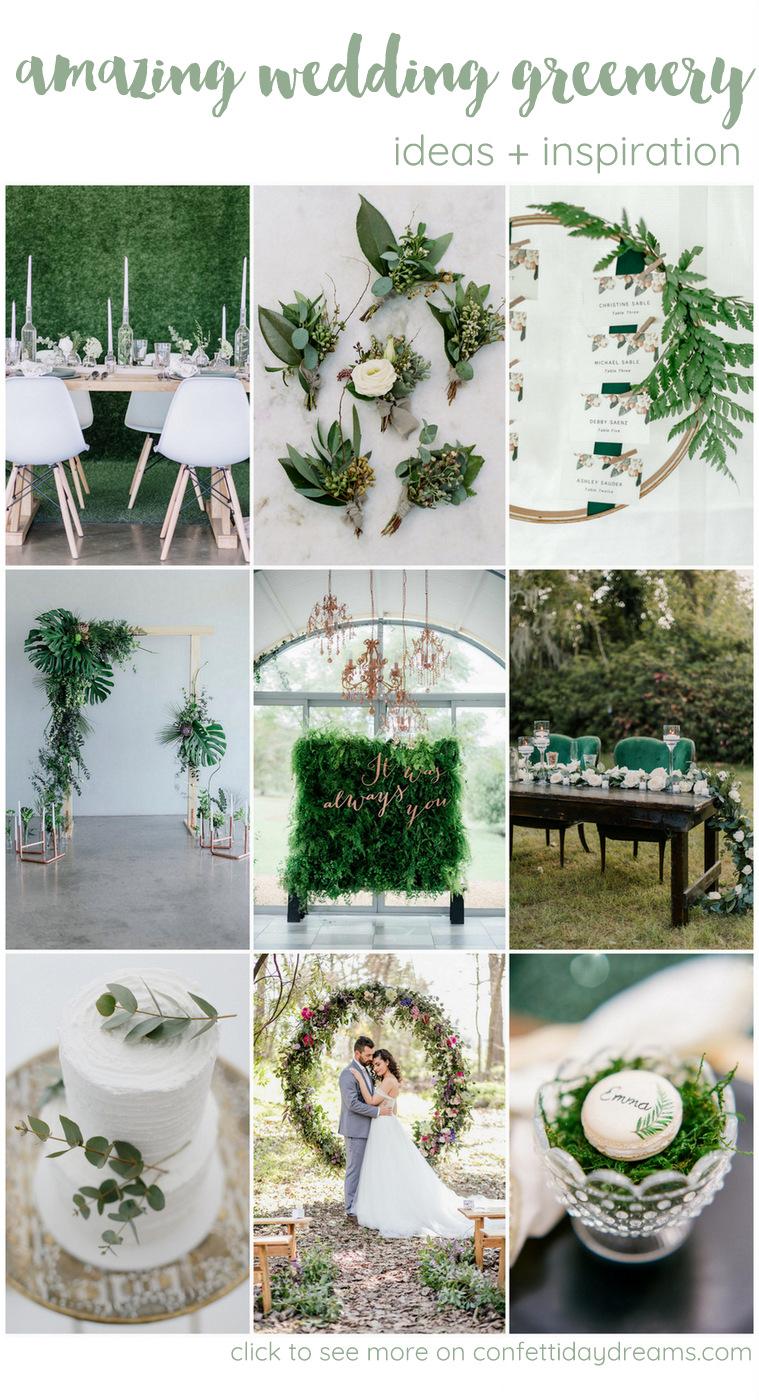 45+ Creative Wedding Greenery Ideas That Will Rock Your World