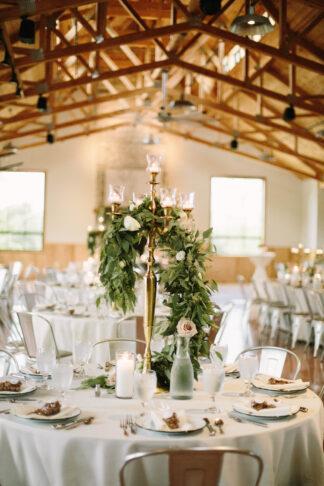 Wedding Greenery Centerpieces