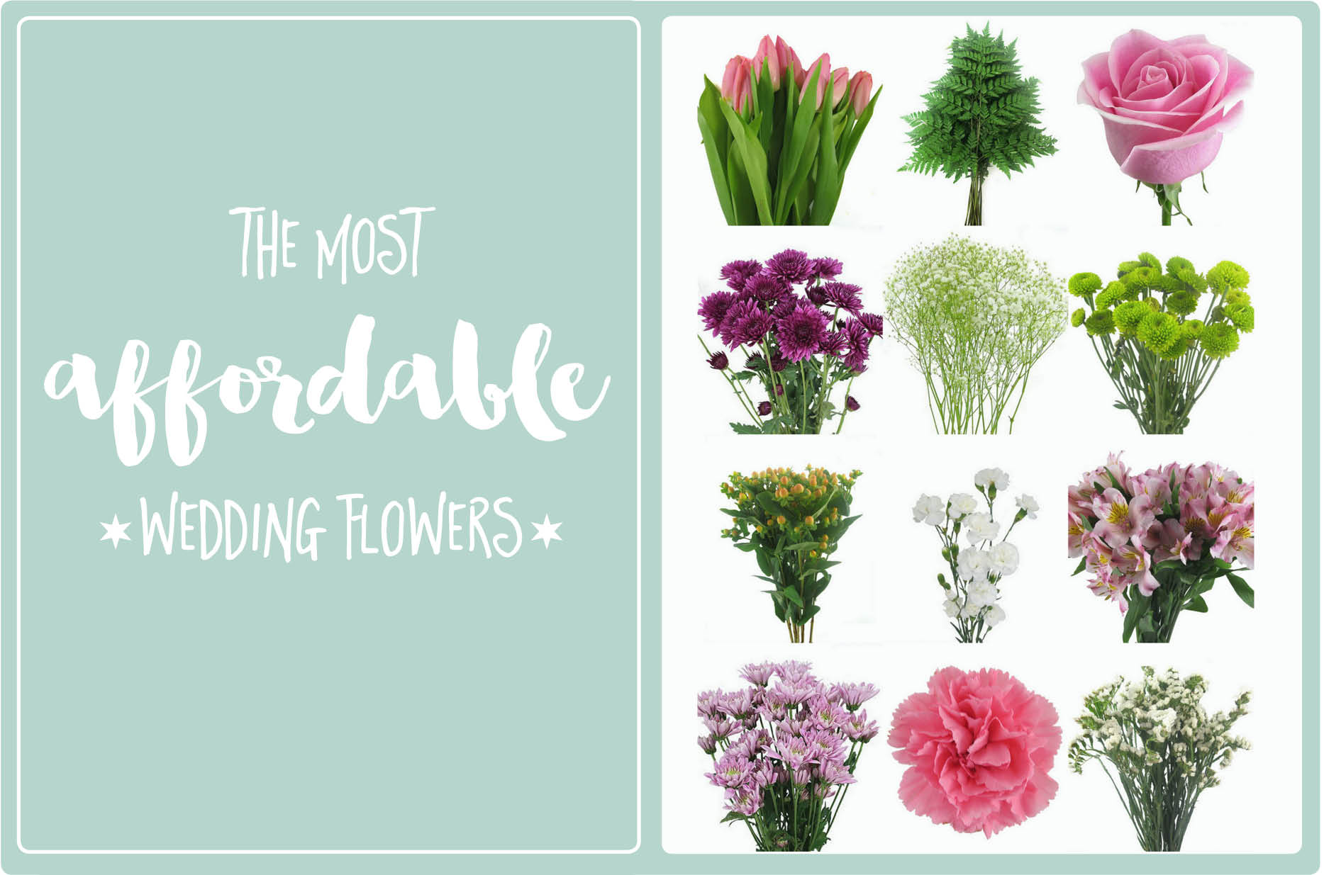 The Most Affordable Types Of Wedding Flowers On A Budget
