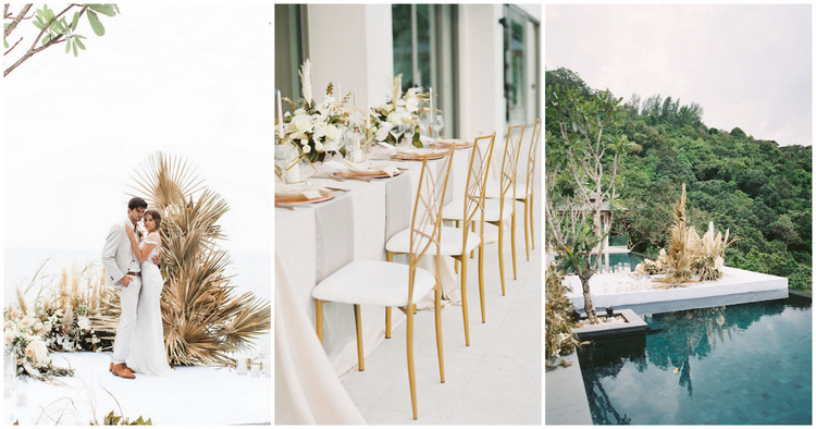 Dried Flowers and Pampas Grass Wedding