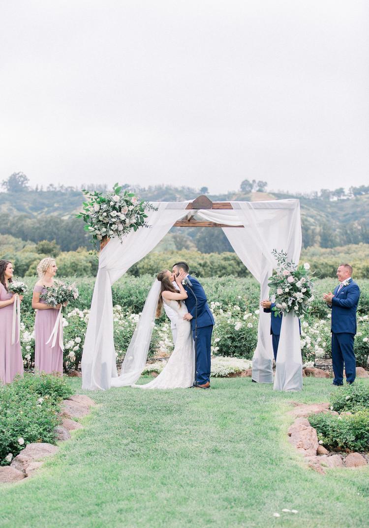Whimsical Outdoor Orchard Wedding Camarillo