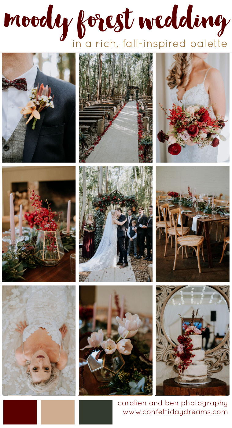 Forest Wedding at Silver Sixpence Dullstroom .