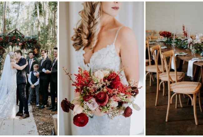 Fall-inspired Forest Wedding at Silver Sixpence