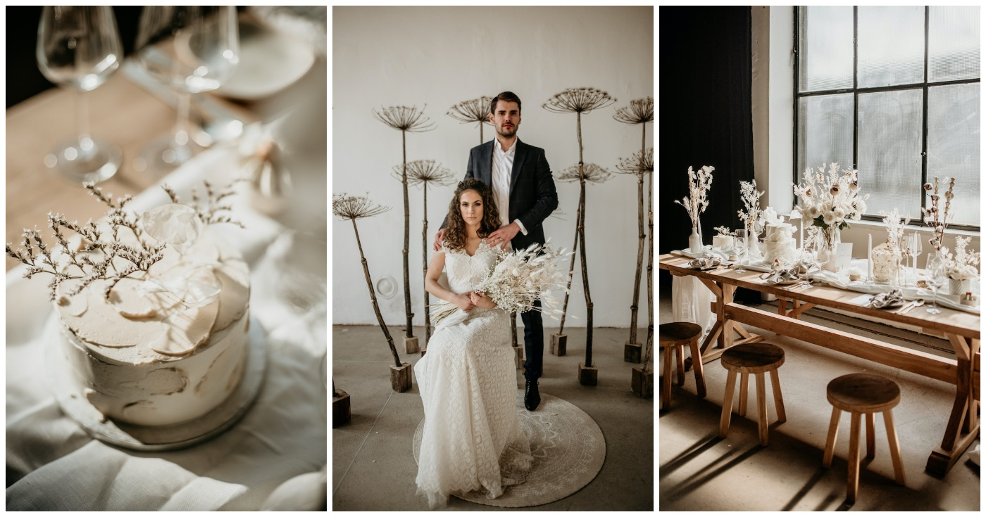 Organic Neutral Wedding