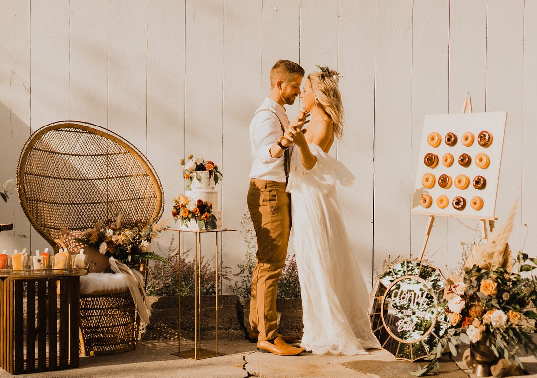 Boho Rustic Outdoor Farm Wedding