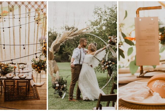 Boholicious Rustic Farm Wedding in Ontario with Stealworthy Deets!