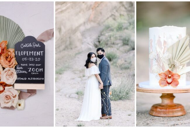 Tips for A Micro Wedding + An Intimate Desert Elopement