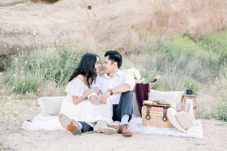 Micro wedding intimate desert elopement 1