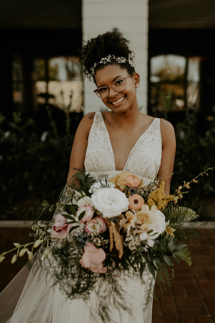 Sustainable Vegan Bohemian Wedding