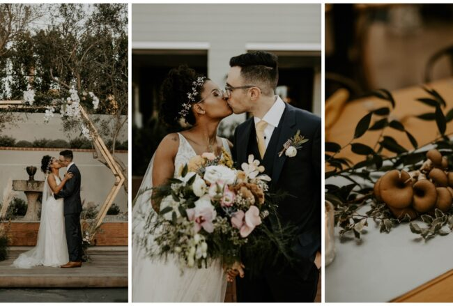 Sustainable Vegan Bohemian Wedding in Cali!