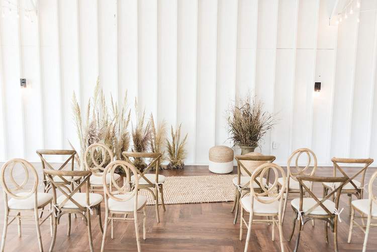 Organic Sustainable Vegan Pampas Grass Wedding