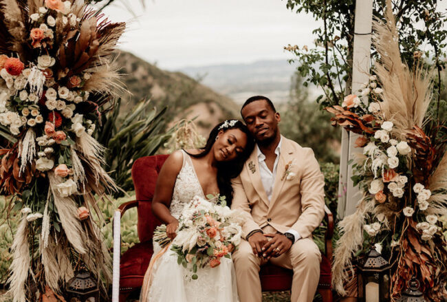 Boho Beautiful Micro Wedding Elopement