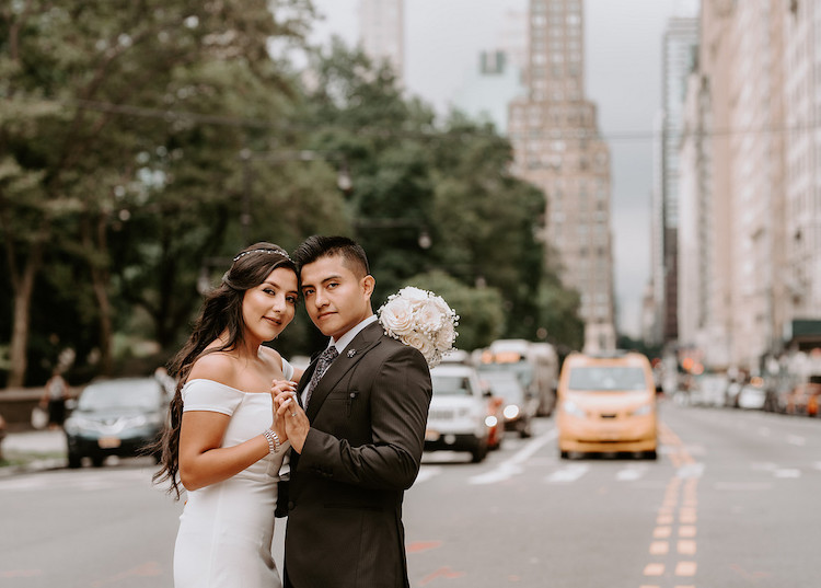 Romantic Central Park Micro Wedding