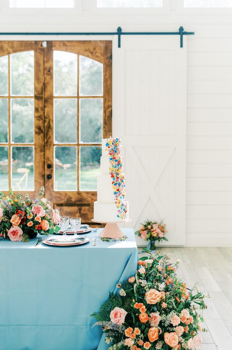 Colourful Butterly Wedding Theme Decor