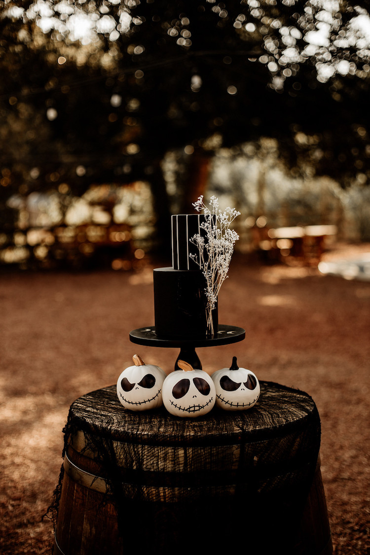 Jack and Sally Nightmare Before Christmas Wedding Theme