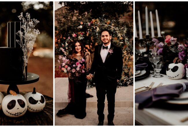 Spooky-Cute Halloween Wedding: Jack & Sally's Celebration
