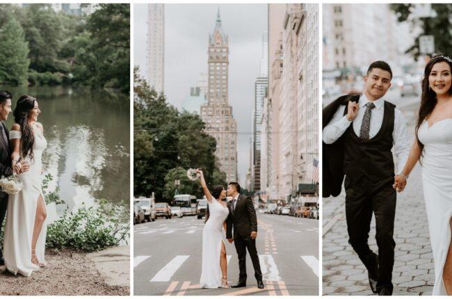 Romantic Central Park Micro Wedding