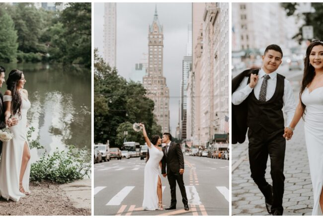 Intimate Micro Wedding at Central Park