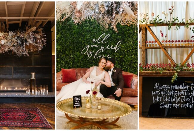 Modern Industrial Baltimore Winter Wedding